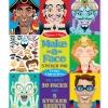 Melissa & Doug Make-a-Face Crazy Characters Stickers Padสมุดสติ๊กเกอร์แต่งหน้าคน++ พร้อมส่ง++