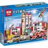 เลโก้จีน LEPIN CITY 02052 ชุด Fire Station