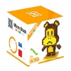 Nanoblock : Worry Bear : Paul Frank