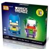 Loz Brickheadz : Batman & Joker