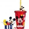 แก้วน้ำเก็บอุณหภูมิ Mickey Mouse พร้อมหลอด [Disney USA]++ พร้อมส่ง++