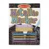 สมุดวาดลายเส้น Metallic Marker Trace & Color Pad