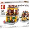 Sembo Block SD6074 : Hot Dog