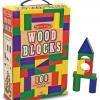 บล๊อคไม้ 100 ชิ้น Melissa and doug 100 Wood Blocks Set