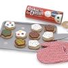 ชุดทำคุ๊กกี้ไม้ Wooden Play Food - Slice & Bake Cookie Set