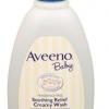 ครีมอาบน้ำสูตรเข้มข้นสำหรับเด็กผิวแห้งAveeno soothing relief creamy wash ขนาด 12 oz