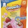 ขนมสำหรับเด็กเล็ก โยเกิตอัดเม็ด รส สตอเบอรี่ Gerber Graduates Yogurt Melts++ พร้อมส่ง++Exp 27 Jan 16 สำเนา