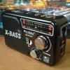 วิทยุพกพา WAXIBA XB-521URT สีดำ (ใหญ่กว่ารุ่น 324)