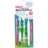 แปรงสีฟันเด็กพีเจ้น step 3 พร้อมแปรงสำหรับคุณแม่เพื่อทำความสะอาดฟันน้อง