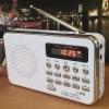 วิทยุพกพา FM MP3 L-938 สีขาว