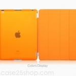(สีส้ม) Smart Cover แยกชิ้นส่วนออกจากกันได้ (เคส iPad 2/3/4)
