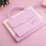 (สีชมพู) เคสกระเป๋า Princess Series (เคส iPad Pro 10.5)