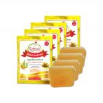 Herbal Deodorant สบู่สมุนไพรระงับกลิ่น ขิง-มะขาม [ 4 ชิ้น ]