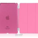 (สี่ชมพู) Smart Cover แยกชิ้นส่วนออกจากกันได้ (เคส iPad mini 1/2/3)