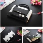 (สีดำ) เคสกระเป๋า Princess Series (เคส iPad mini 1/2/3)