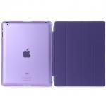 (สีม่วง) Smart Cover แยกชิ้นส่วนออกจากกันได้ (เคส iPad 2/3/4)