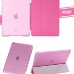 (สีขมพู) Smart Cover แยกชิ้นส่วนออกจากกันได้ (เคส iPad Air 1)