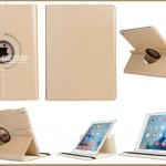 เคสหมุนได้ 360 องศา สีทอง,เงิน,Rose Gold (เคส iPad Air 2)
