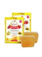 Herbal Deodorant สบู่สมุนไพรระงับกลิ่น ขิง-มะขาม [ 2 ชิ้น ]