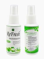 สเปรย์ระงับกลิ่นกาย Refresh (ไม่มีกลิ่น)30 ml. (1ขวด)