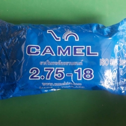 2.75-18 TR4 ยางใน ยี่ห้อ CAMEL (เทียบเท่า 80/90-18) ( 50 เส้น )