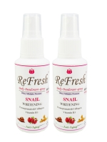 Refresh Extra Care Deodorant Spray (แพ็คคู๋) กลิ่น Britny midnight fantasy