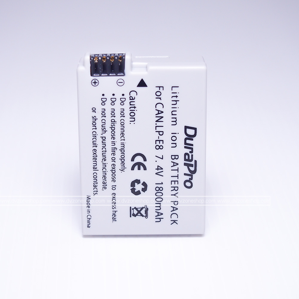 Battery Canon Lp E8 For Eos 550d 600d 650d 700d Dv Lithium